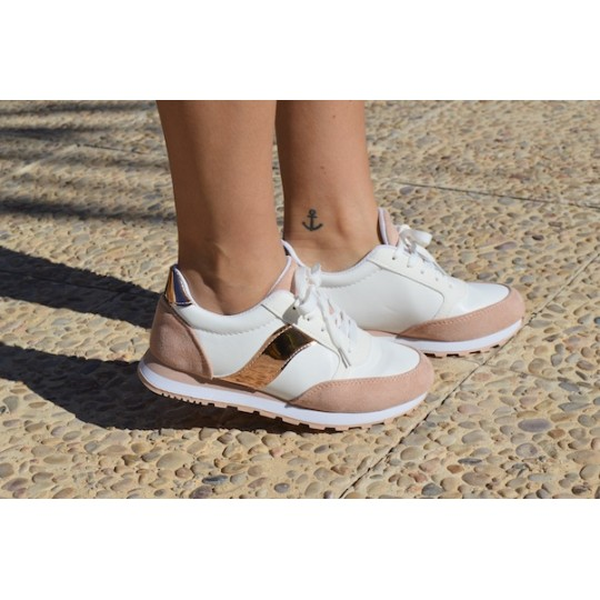SNEAKERS PARKSIDE rosa